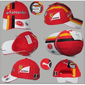 Gorra Sebastian Vettel Puma Scuderia Ferrari Autentica 2017