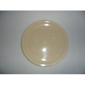 Trinche Plato Plástico 23 Cm Color Beiges Buena Calidad