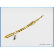 Esclava Cartier Placa Con Oro Amarillo 24k Envio Gratis