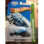 Hot Wheels Max Steel Motorcycle 2013 Gris Azul