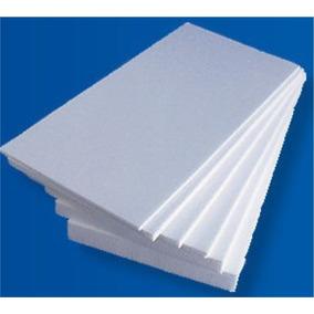 25 Placas Isopor Térmico Antichama 100x50cm X 2cm 20mm A2