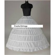 Anágua Vestido Noiva 15 Anos Muito Rodada Pronta Entrega 6a