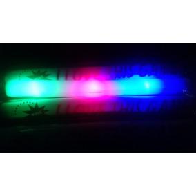 50 Barra Luz Led Espuma Hule Luminoso Aplaudidor Boda Fiesta