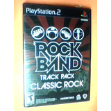 Rock Band Track Pack Classic Rock - Ps2 - Original - Nuevo