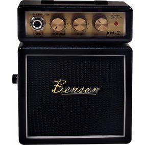 Mini Amplificador Para Guitarra Am2b - Benson Para Estudo