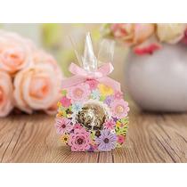 Envoltura Floral Para Chocolate - Bautizo Nacimiento Bebe