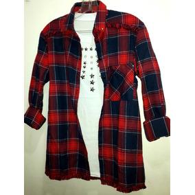 Camisa Cuadros Escoces Ultima Moda!!
