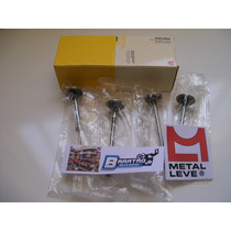 Kit Válvulas Admissão Escape Metal Leve Honda Twister 250