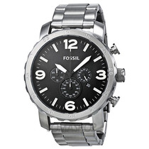 Relógio Fossil Masculino Jr1353 Metal Caixa Grande 50mm Novo