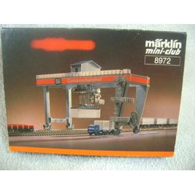Nico Set Grua P/contenedores Marklin Mini Club 8972 (amz 10)