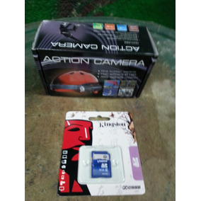 Video Camara Deportiva Para Casco Paintball, Gotcha, Moto