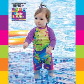 Vestido De Baño Bebe Con Protector Solar Ref 4085