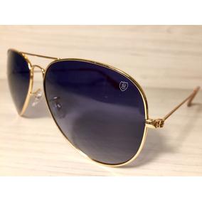 4748e70b3d1cb Óculos De Sol H1 Aviador Original Com Proteção Uva + Uvb