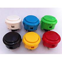 8 Botónes Sanwa Original Obsf30 Control Arcade Fightstick