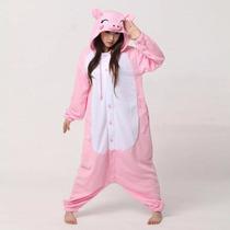 Pajama Kigurumi Puerquito Mediana Chico Disfraz