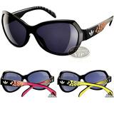 Óculos De Sol adidas Feminino Preto 3 Hastes Amarelo Rosa