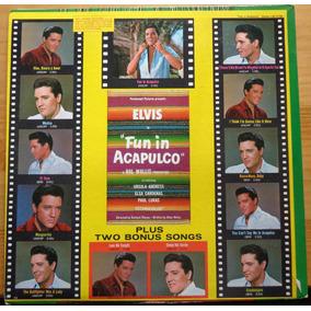 Elvis Presley Lp Import Usado Fun In Acapulco