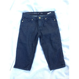 Bermudas Jeans Elasticado Azul Heidi Klum By Jordache T/38