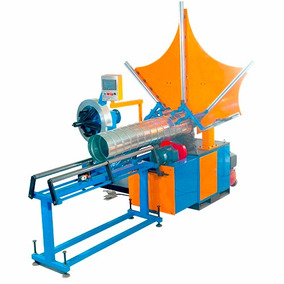 Máquina Fabricación De Tubos Helicoidales - Ductos Espirales