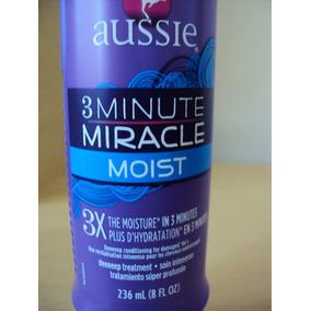 Aussie 3minute Miracle -moist-236ml - Pronto Entrega.