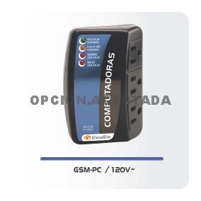 Protector Voltaje Gsm-pc120 Computadora Laptop Moden Fax