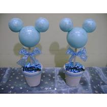 Centros De Mesa Souvenirs Mickey Bebé Minnie