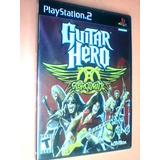 Guitar Hero Aerosmith Ps2 Original Nuevo Caja Sellada Fisico