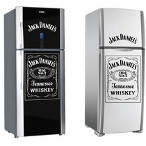 Adesivo Decorativo Geladeira Whisky Jack Daniel