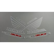 Kit Adesivos Honda Cb-300r 2009 E 2010 Preta