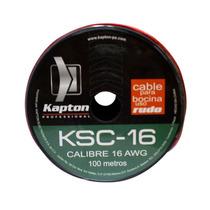 Rollo De Cable Calibre 16 Para Instalaciones, Uso Rudo. 100m