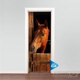 Adesivo 123 Porta Baia De Cavalo Mod 634