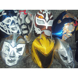 Mascaras De Luchadores P/adulto Varios Modelos Santo Demon W