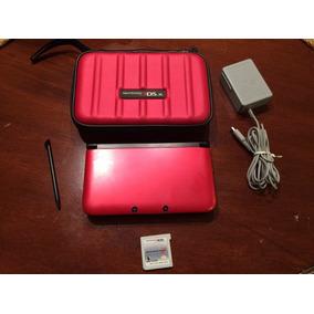 Nintendo 3ds Xl + Case+carregador+game