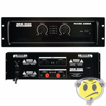 Amplificador Potência Mark Audio Mk8500 1500w Kadu Som