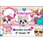 Kit Completo. 152 Stickers P/útiles Escolares Personalizados