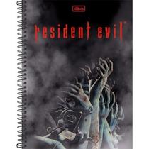 Caderno Espiral Tilibra Resident Evil 96 Folhas 1 Materia