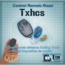 Control Remoto Porton Automático Rossi Txhcs Rolling Code