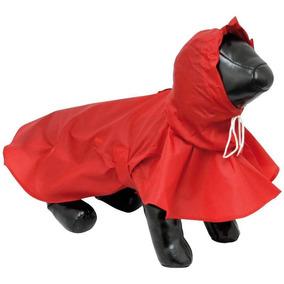 Kit Capa De Chuva Para Cães Cachorros Impermeável Pp + G