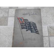 Álbum De Figurinha Paulista Antigo Completo (raro)