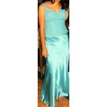 Hermoso Vestido Color Aqua, Llevatelo Y Lucete En Esa Fiesta
