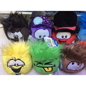 Peluche O Poffles Con Su Codigo De Club Penguin X Pieza !!!!