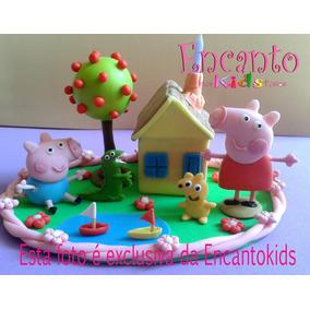 Topo De Bolo Da Peppa Pig