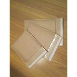 50 Envelopes Com Bolha Papel Kraft 15 X 19 Cm