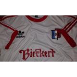Camiseta Retro Del Deportivo Español Publicidad Bieckert