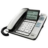 Telefono De Mesa De Numeros Grandes Con Visor Y Manos Libres