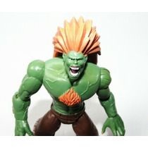 Boneco Action Figure Blanka Street Fighter 10 Cm Ken Ryu
