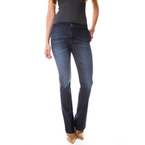 Calça Jeans Multi Ponto Denim Flare Alfaiataria