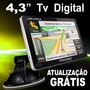 Navegador Gps Automotivo 4.3 Discovery 3d Tv Digital Radar
