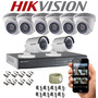 Kit Hikviison Dvr Turbo Hd 8ch + 8 Camaras De Seguridad T Hd