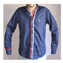 Camisa Original Tommy Hilfiger - 100% Algodon Made In Italy